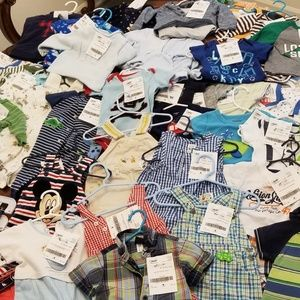 Baby boy clothes lot 0-3, 3-6